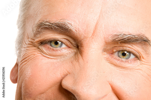 Eyes of a senior man