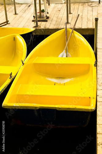 Leinwanddruck Bild The boat