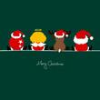 4 Sitting Christmas Symbols