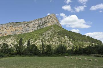 Rémuzat, rocher du Caire, Drôme, France
