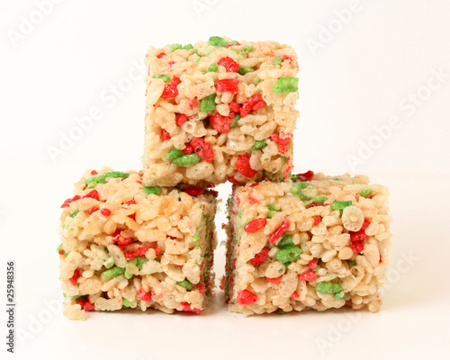 Christmas Rice Cookies