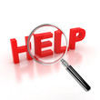 search for help icon