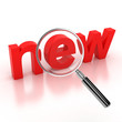 search new items icon