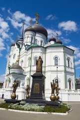 The Blagoveshchensk cathedral.