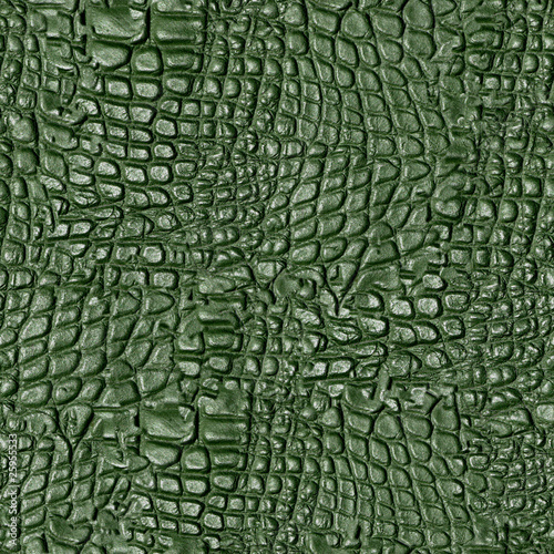 Fotobehang Krokodil Alligator Hide Seamless Texture Tile from Photo Original