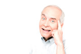 Funny pensioner poster