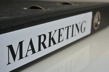 Marketing Aktenordner