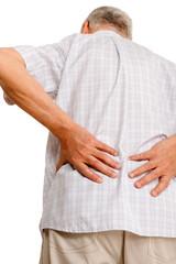 Suffering rheumatism