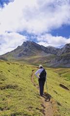Senderismo por Somiedo,asturias,España