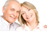 Pensioners couple poster