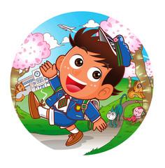 小学生-春