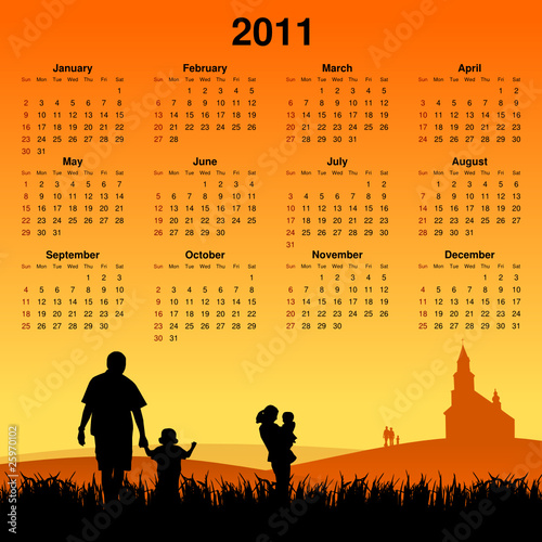 catholic family calendar 2011