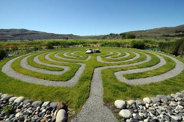 Washington outdoor Labyrinth