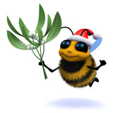 Buzzy bee wants a kiss for Christmas