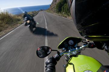 biker in sardinia
