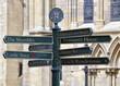 York signpost