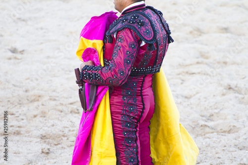 bullfighters costumes