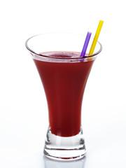 frozen red fruit juice