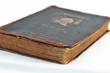 altes Buch - alter Dichter - Goethe