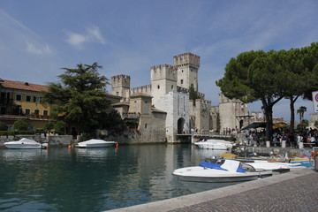 Castle Sirmione in Italy