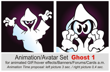 Animation Set Ghost 2