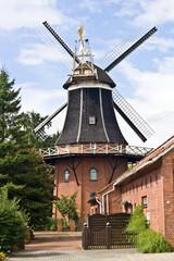 Karl Dall - seine Mühle in Ostfriesland