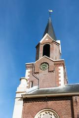 Typical Dutch church tower