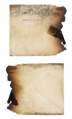 Fire Damaged Envelope