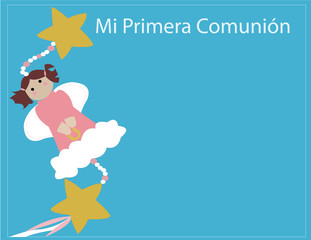 Angel Primera Comunion