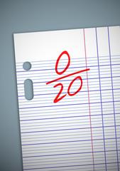 Note 0 sur 20
