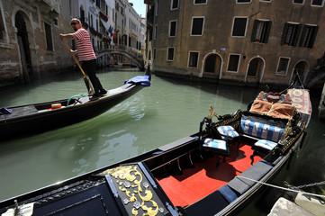 gondolier a Venise