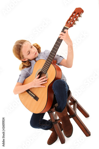 Adorable Guitar Girl