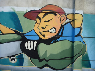 graffiti casquette