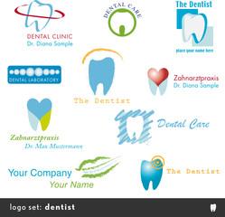 10 zahnarzt logos