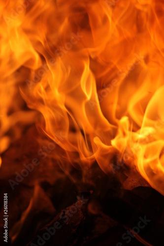 Foto op Canvas Vuur / Vlam Flammen