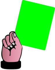 grüne Karte