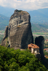 Meteora Monastery, Greece landmark