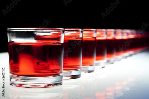 Shots on the bar