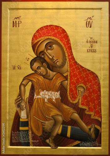 Staande foto Athene Virgin of the Holy Monastery of Kykkos