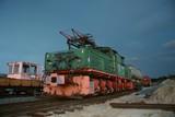 Fototapeta szyna - pociąg - Widok Przemysłowy