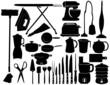 32 éléments vectoriels pour la cuisine