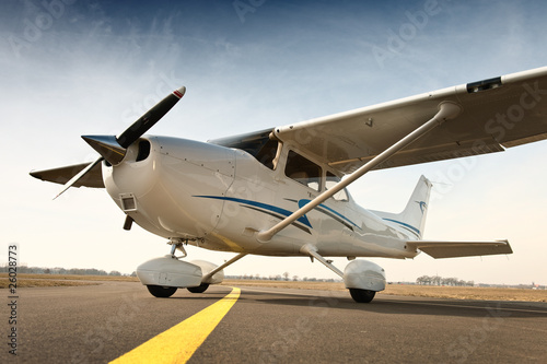 canvas print picture Cessna 172