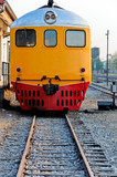 Diesel hydraulic locomotive poster