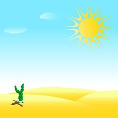 fuels desert illustration