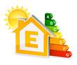 Maison énergie niveau E