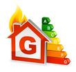 Maison énergie niveau G