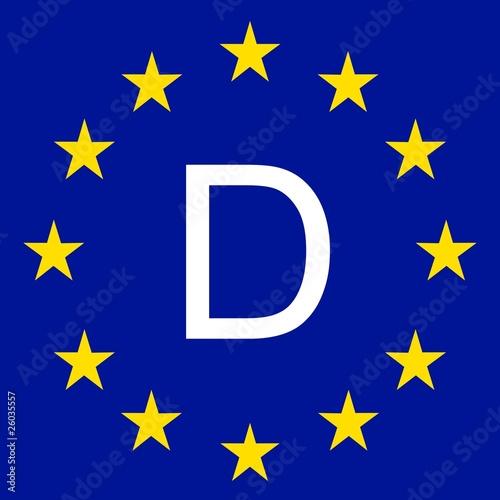 d deutschland europa flagge stockfotos und lizenzfreie bilder auf bild 26035557. Black Bedroom Furniture Sets. Home Design Ideas