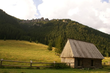 polana w górach
