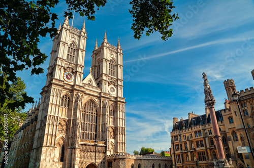 Leinwandbild Motiv Westminster Abbey, London.