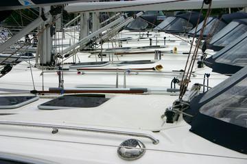 Front Deck Sailing Boat